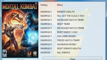 Mortal Kombat ~ Komplete Edition (2013): Трейнер/Trainer (+11) [1.0] {GRIZZLY / PlayGround.ru}