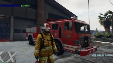 "Grand Theft Auto 5 ""Firefighter Mod"""