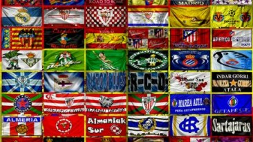 "FIFA 09  ""Liga BBVA Flagpack"""