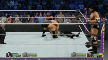 WWE WrestleMania 2016 - Nwo Wolfpac Big Sexy Kevin Nash & The Icon Sting VS NWO Giant & Scott Hall
