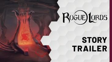 """""""Настал час отмщения """" - сюжетный трейлер """"рогалика"""" Rogue Lords в духе Тима Бертона"""