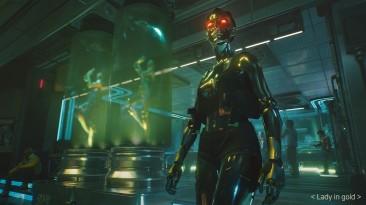 Рынок в Кабуки и золотая девушка на новых скриншотах Cyberpunk 2077