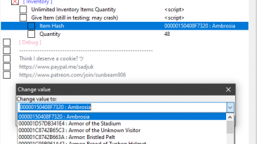 Immortals: Fenyx Rising: Таблица для Cheat Engine [UPD:05.12.20] {SunBeam/CJBok}