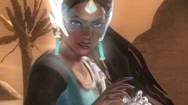 """Dead or Alive 5: Last Round """"Symmetra from """"Overwatch"""""""