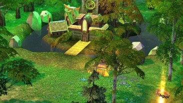 "Heroes Of Might And Magic 5: Повелитель орды ""Карта - Isles of Terra"""