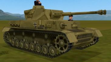 """Combat Mission: Afrika Korps """"Green Overspray Pz IV G Mid"""""""