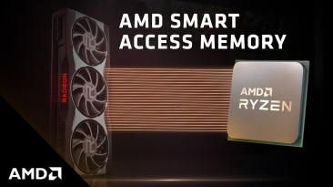 Технология AMD Smart Access Memory повышает производительность Radeon RX 5000