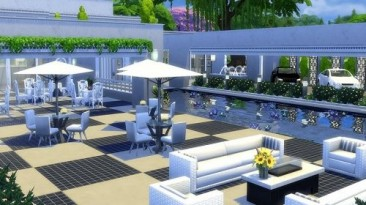 "Sims 4 ""Ресторан Hellenic от evi"""