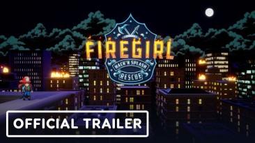 Анонс и трейлер Firegirl: красочный экшен-рогалик про юную пожарницу