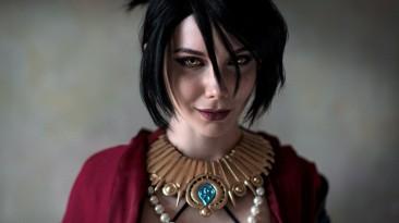 Косплей Морриган из Dragon Age: Inquisition