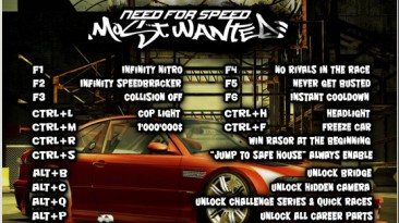 Need for Speed: Most Wanted (2005): Трейнер/Trainer [MW Inside 1.77]