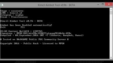 Counter-Strike: Global Offensive: Чит-Мод/Cheat-Mode (Для одиночной игры с ботами) [CSGO Kimcil Aimbot Tool v1.4]