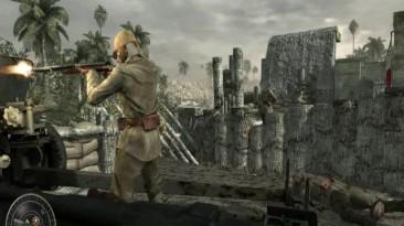 Прохождения Call of Duty World at War(3 миссия Жесткая посадка)