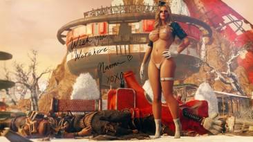 "Fallout 4 ""Пин-ап костюмы с физикой"""