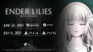 "Метроидвания ""Ender Lilies: Quietus of the Knights"" обзавелась датой релиза"