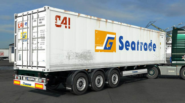 """Euro Truck Simulator 2 """"Мод Arnook's SCS Containers Skin Project v7.0 (1.39.x)"""""""