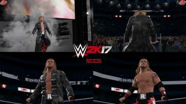 "WWE 2K17 ""Edge Red 2006 Наряд (Лицевая анимация) WWE 2K19 Порт мод"