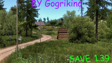 Euro Truck Simulator 2: Сохранение/SaveGame (Исследована вся карта Pomezania) {Gogrikino}
