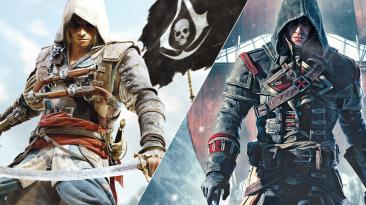 Физическая версия Assassin's Creed: The Rebel Collection содержит только Black Flag