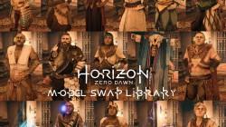 """Horizon: Zero Dawn """"Смена моделей персонажей"""""""