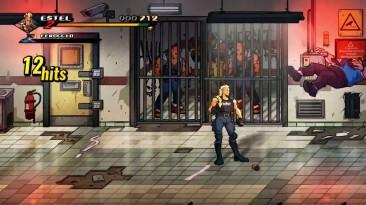 Был представлен боец Estel для Streets of Rage 4