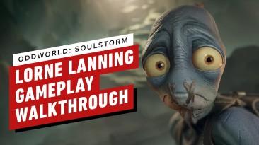Новое 12-минутное геймплейное видео Oddworld: Soulstorm