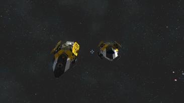"""Space Engineers """"Истребитель Whelp"""""""