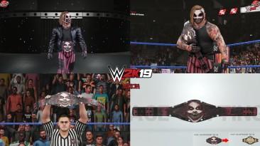 "WWE 2K19 ""WWE Universal ""The Fiend"" Championship (Пояс/Титул) Мод"""