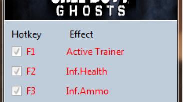 Call of Duty ~ Ghosts: Трейнер/Trainer (+8) [Update 5] {MrAntiFun}