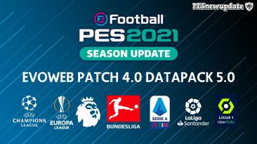 "PES 2021 ""EvoWeb Patch 2021 4.0 + Обновления"""