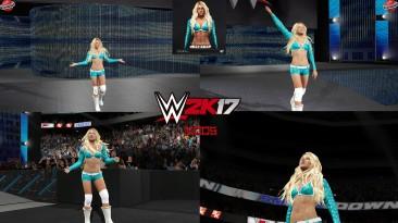 """WWE 2K17 """"Kelly Kelly WWE13 Наряд (Лицевая анимация) WWE 2K19 Порт мод"""""""
