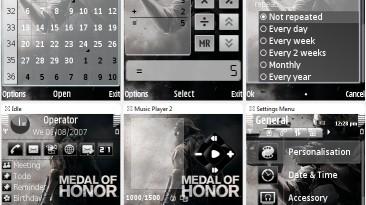 "Medal of Honor ""Тема для Nokia S60 3rd"""
