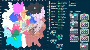 Subnautica: Сохранение/SaveGame (Все обозначения на карте, 3-я версия)