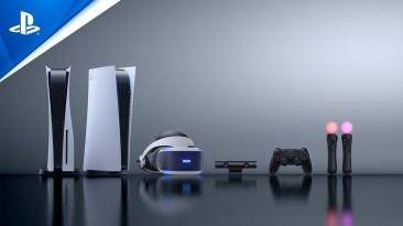 Sony напомнила о полной интеграции PS5 с PS VR