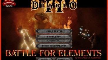 """Diablo 2 """"Battle for Elements for d2se"""""""