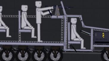 "People Playground ""sdkfz 251/10 Бронированный грузовик"""