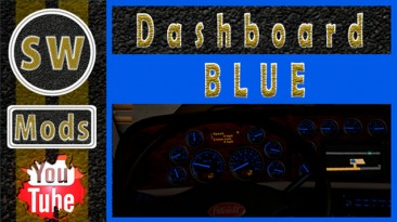 "American Truck Simulator ""Пакет Dashboard для Peterbilt 389 SCS ATS 1.4.хх"""