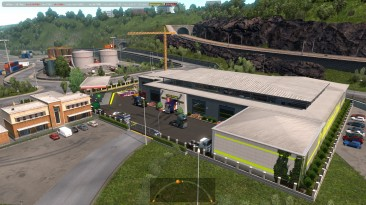 "Euro Truck Simulator 2 ""Mod Prefab All Garage Mods v 2.1 ETS2 1.37.x"""