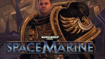 "Warhammer 40.000: Space Marine ""черные доспехи ультрамаринов"""
