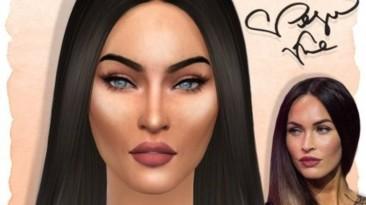 "The Sims 4 ""Меган Фокс"""