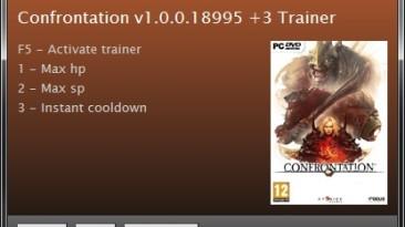 Confrontation: Трейнер/Trainer (+3) [1.0.0.18995: RELOADED Version] {Rotor}