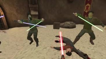 Геймплей модификации EDI FORCE PHYSICS 1.0 для VR-игры Blade & Sorcery
