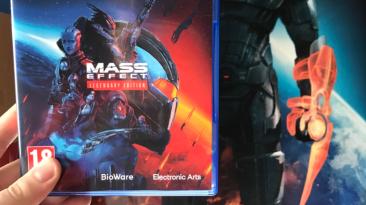 Некоторые игроки уже получили дисковые версии Mass Effect: Legendary Edition