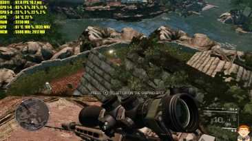 Sniper Ghost Warrior 2 4K GTX 1080 TI Частота кадров/Тест производительности