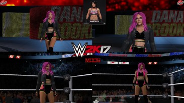 "WWE 2K17 ""Dakota Kai '21 Наряд (Лицевая анимация) WWE 2K19 Порт Мод"""