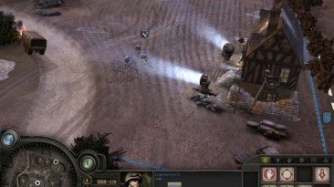 """Company of Heroes: Opposing Fronts """"Карта - Sunset in Normandy"""""""