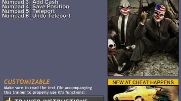 Payday: The Heist: Трейнер (+6) [1.0r2] {CH}