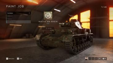 Игроки Battlefield 5 наконец смогут кастомизировать танки, начиная со следующей недели