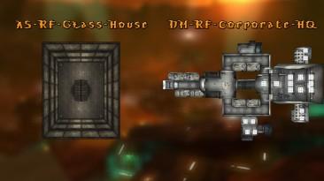 "Unreal Tournament 2004 ""AS-RF-Glass-House и DM-RF-Corporate-HQ Ремейки уровней из Red faction 2001"""