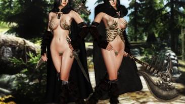 """Elder Scrolls 5: Skyrim """"Lady Of Death mod"""""""